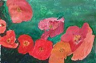 Flowers, Acrylic, C Johnston