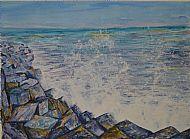 Seascape, Acrylic, G. Feeley
