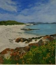 Western Isle, Acrylic, R. Walsh