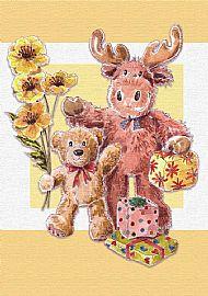 Moose Birthday