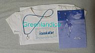 Swarovski Snowflake Necklace+T-Shirt & Card