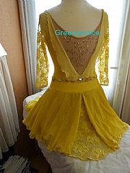 Yellow Grace Back View
