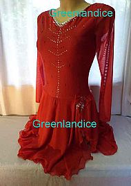 Jeannie design in Red