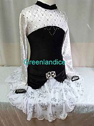 Black/White March Dress