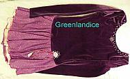 Sarah Ice Princess design dress