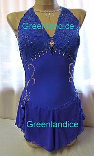 Alissa design in blue