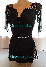 Grace Tia design Black Spider dress