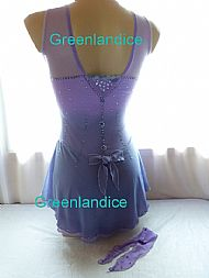 Jeannie design Lilac/Lavender Back View
