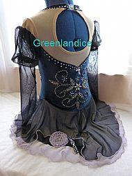 Kimmie design Dk Blue Back View