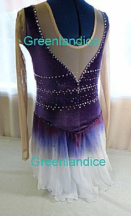 Rebecca design in Purple Back View