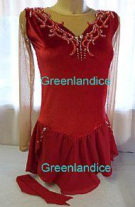 Rebecca design in Red