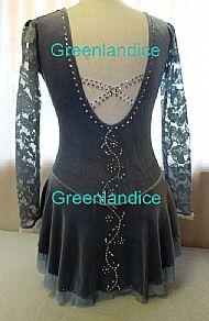 Lettie design in Grey Back View