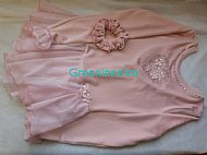 Sarah Ice Princess dress in Pink Laid flat