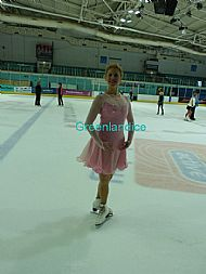 Pink Kimmie Dance on ice