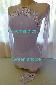 Lexie Laura design dress in Lilac