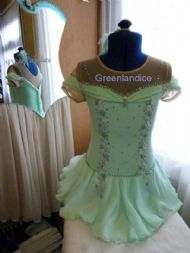 Melissa in Mint Dress PL