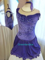 Purple Kimmie Design Dress