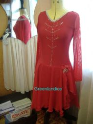 Scarlet Dance dress