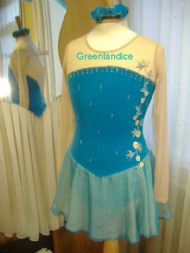 Turquoise Sophie Design Dress