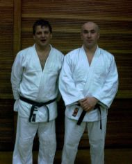 With Judo Instructor Sensei Gary Don 6th Dan