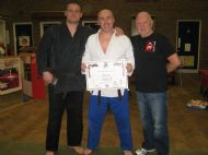 Ju Jitsu 2nd Dan With Sensei Leon Donnelly & Hanshi Steve Barnett