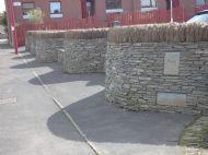 Wavy wall.