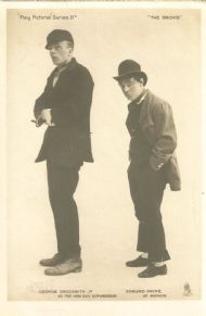 Edmund Payne & George Grossmith in The Orchid