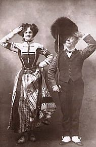 Edmund Payne & Gertie Miller in The Spring Chicken