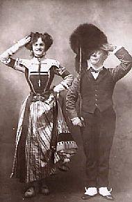 Edmund Payne & Gertie Miller in The Spring Chicken