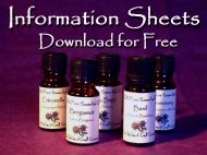 Essential Oil Information Sheets