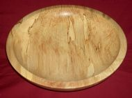 Spalted Sycamore Bowl - Item No.6