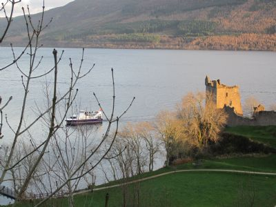 cruise loch ness and try to spot nessie