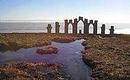 fyrish monument near evanton in winter