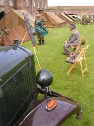 40's day at historic fort george