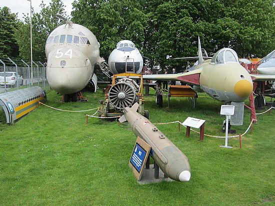 highland aviation museum at dalcross airport