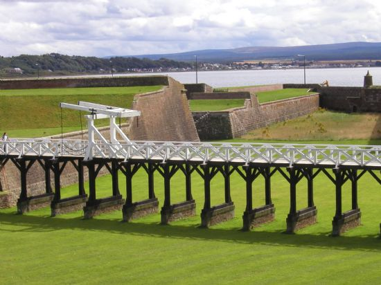 fort george looking towards ardersier