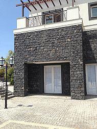 Black Limestone guillotined