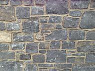 Dark Limestone walling