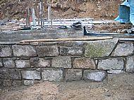 Reclaimed Scottish granite