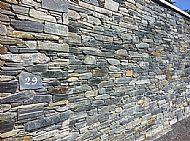 Mixed type random walling