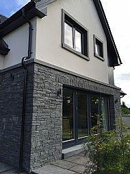 Black Guillotined Sandstone
