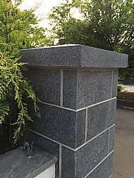 Flame Textured Basalt Pillar and cope