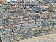 Scottish traditional walling