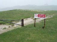 Access to the Uig beach