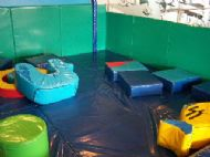 Kids play area on ferry