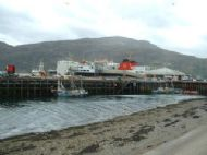 Arrival at Ullapool.