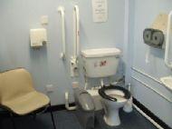 Uig ferry terminal - toilets