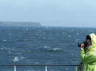 Rough seas on the Minch