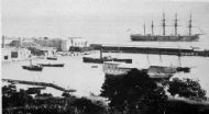 GIBRALTAR HARBOUR 1890