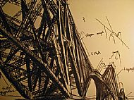 Sketchbook Forth Rail Bridge
